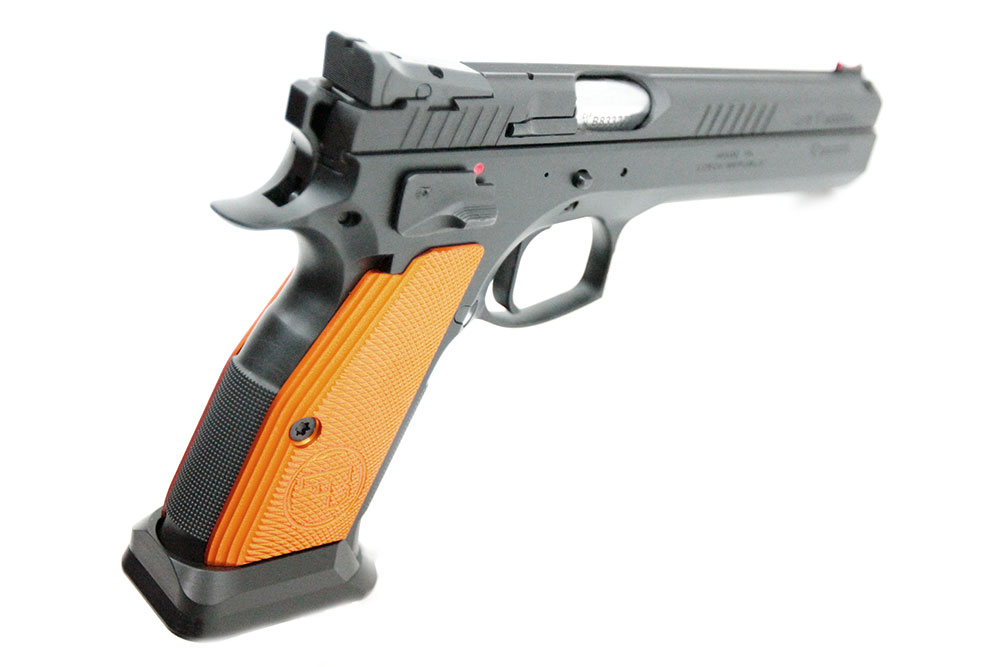Cz 75 Tactical Sport Orange Gq Armory