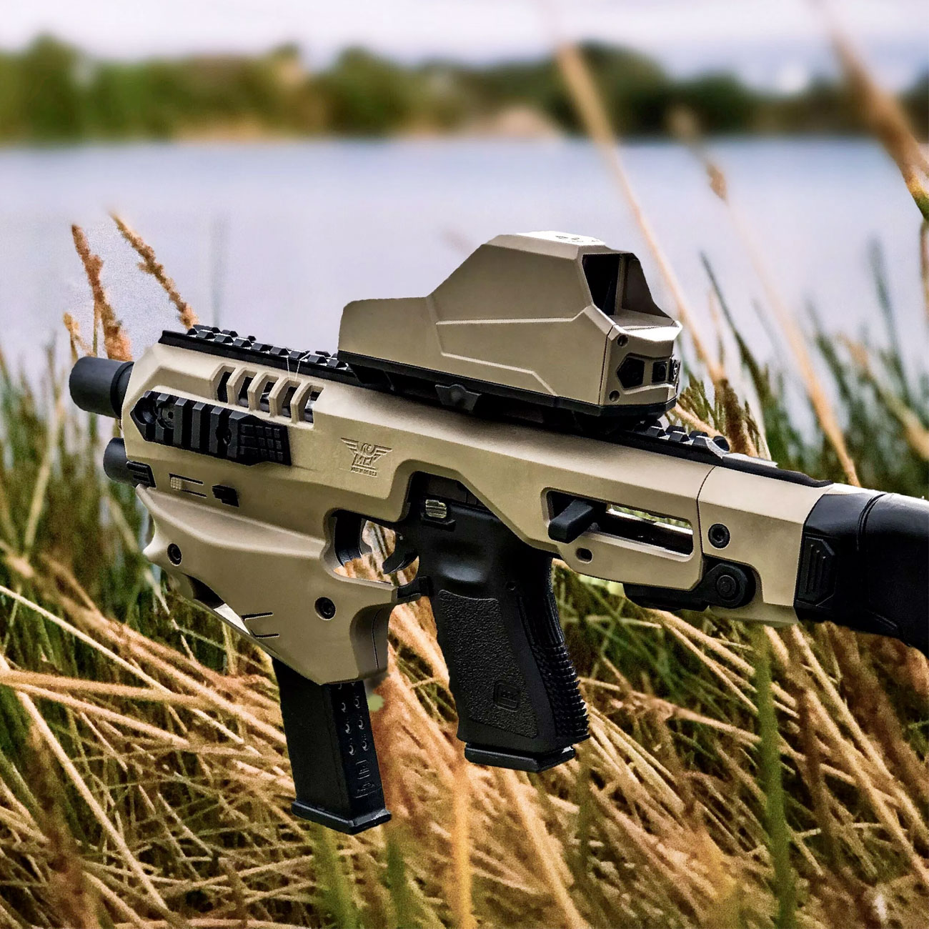 Micro Roni MCK Stabilizer for Glock 20/21 (Pre-Order)